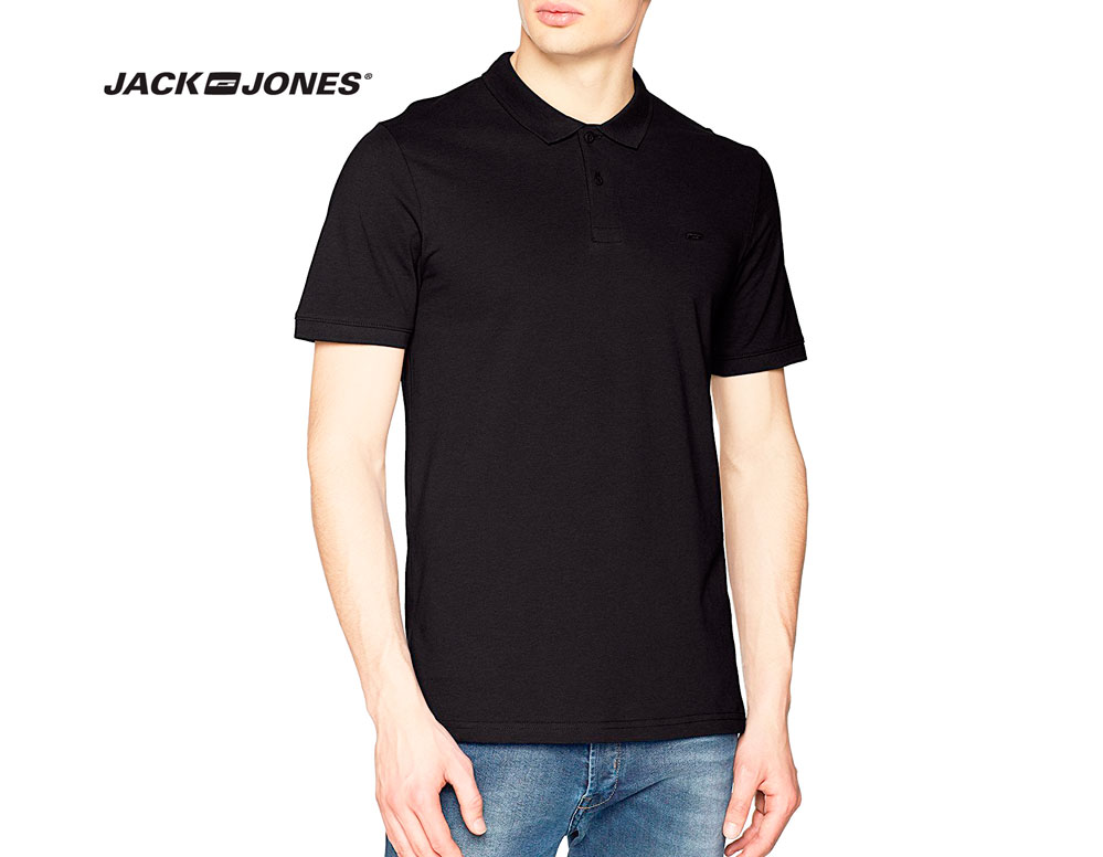 polo jack jones negro barato chollos amazon blog de ofertas bdo