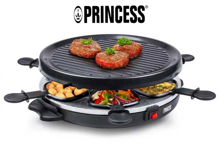 raclette princess 6 grill party barata rebajas chollos amazon blog de ofertas BDO