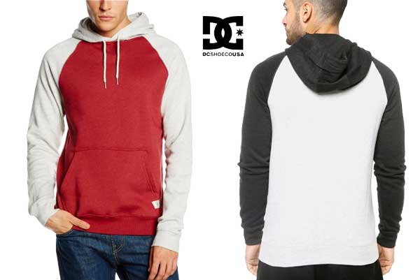 sudadera dc shoes Rebel Raglan barata oferta descuento chollo blog de ofertas