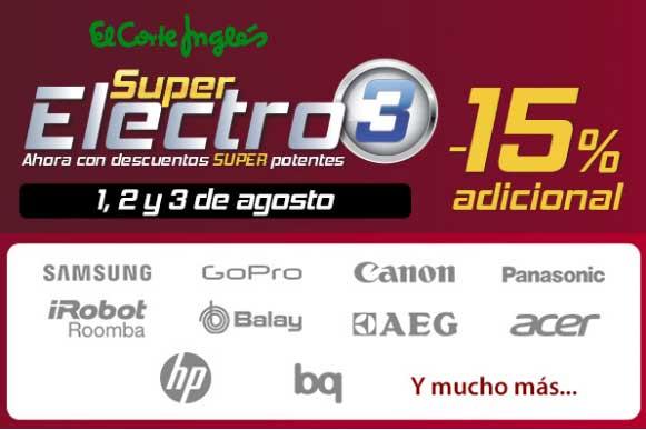super electro 3 el corte ingles barato chollos rebajas blog de ofertas