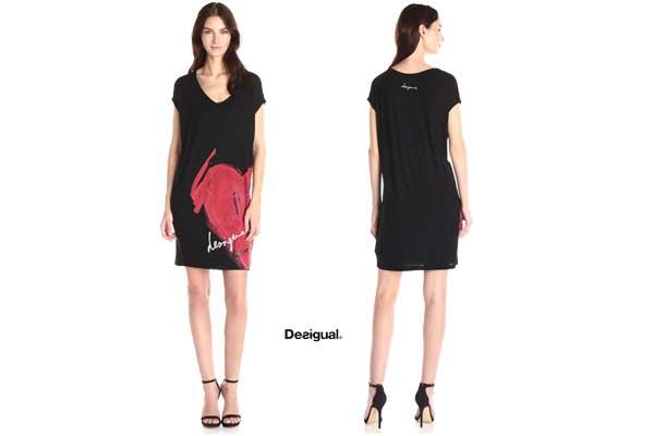 vestido desigual conrado barato oferta descuento chollo bdo
