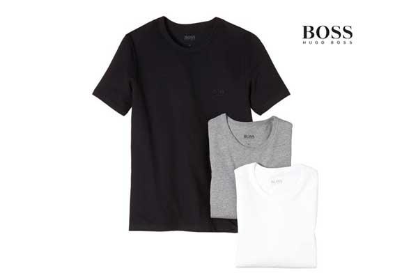 Camisetas básicas Hugo Boss baratas ofertas descuentos chollos blog de ofertas
