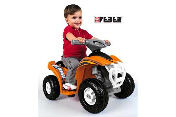 Quad Flash 6V Feber 800007386 barato oferta descuento chollo blog de ofertas