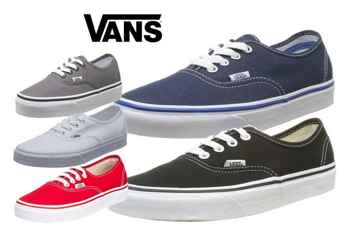Zapatillas Vans Authentic baratas ofertas descuentos chollos blog de ofertas