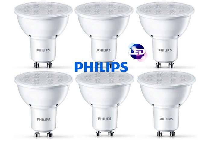 bajo consumo bombillas LED philips gu10 baratas rebajas chollos amazon blog de ofertas BDO