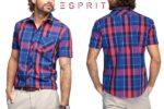 ¡Chollo! Camisa Esprit Kariert barata 12,9€ -58% Descuento