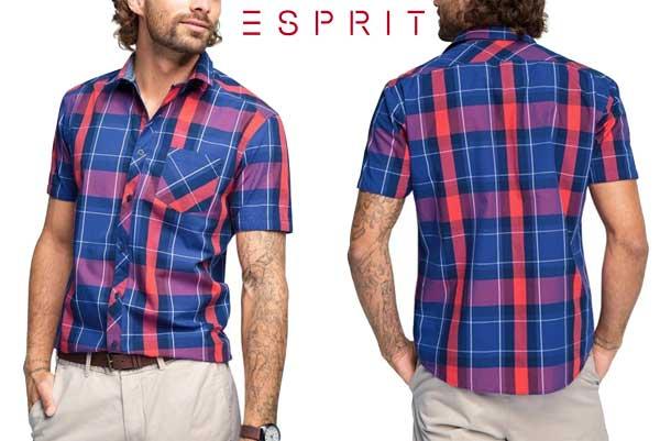 camisa esprit kariert barata oferta descuento chollo blog de ofertas