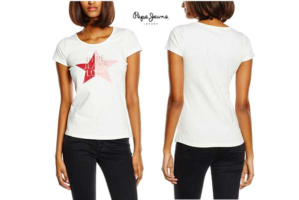 camiseta Pepe Jeans Ophelie barata oferta descuento chollo blog de ofertas