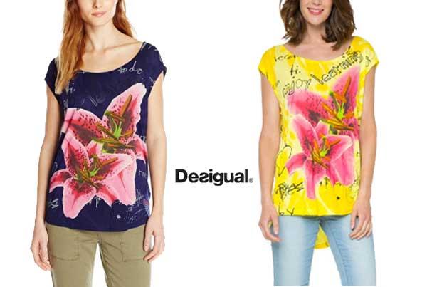 camiseta desigual vinek barata oferta descuento chollo blog de ofertas