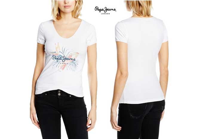 camiseta pepe jeans valerie barata chollos amazon rebajas blog de ofertas BDO