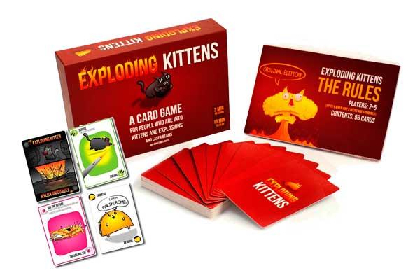 juego de cartas Exploding Kittens barato oferta descuento chollo blog de ofertas