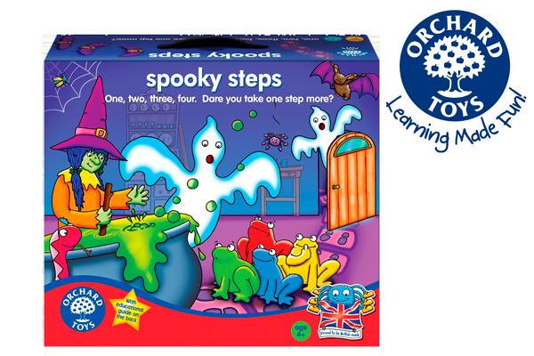 juego de mesa Spooky steps barato oferta descuento chollo blog de ofertas
