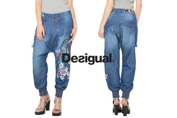 pantalones desigual edith baratos ofertas descuentos chollos blog de ofertas