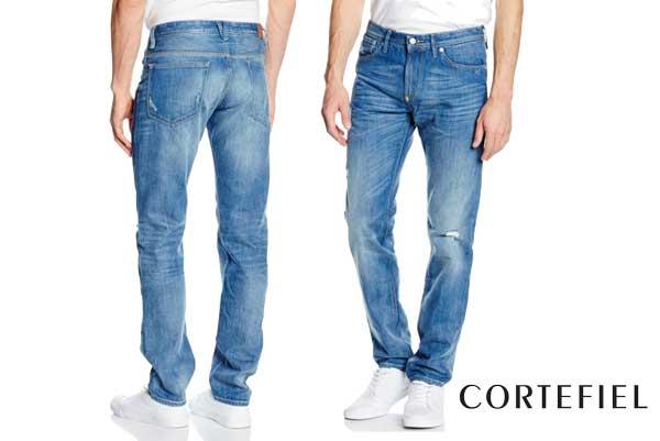 pantalones vaqueros cortefiel Superstone Rotos baratos ofertas decuentos chollos blog de ofertas