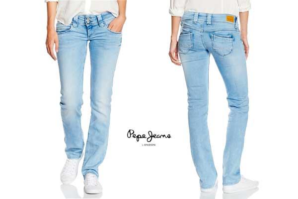 3df5102104 pantalones vaqueros pepe jeans venus baratos ofertas descuentos chollos blog  de ofertas
