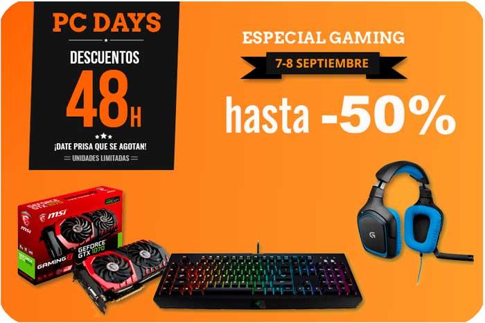 pc days pccomponentes especial gaming chollos blog de ofertas BDO