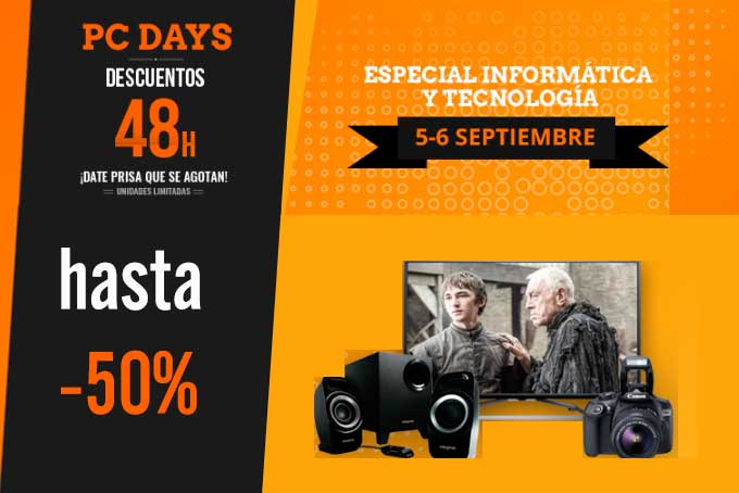 pc days en pccomponentes ofertas chollos descuentos blog de ofertas BDO
