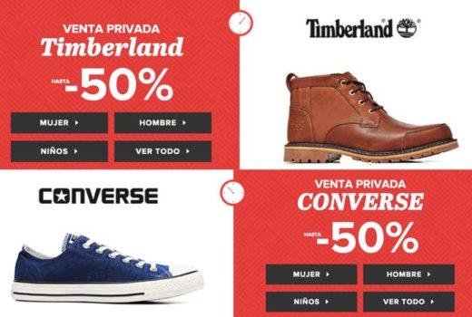 venta privada converse y timberland sarenza chollos rebajas descuentos blog de ofertas BDO