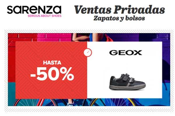 ventas privadas geox sarenza chollos rebajas descuentos blog de ofertas BDO