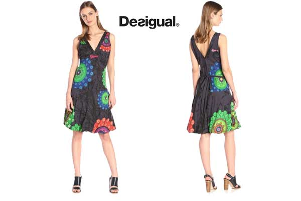 vestido desigual Ginngery barato oferta descuento chollo blog de ofertas