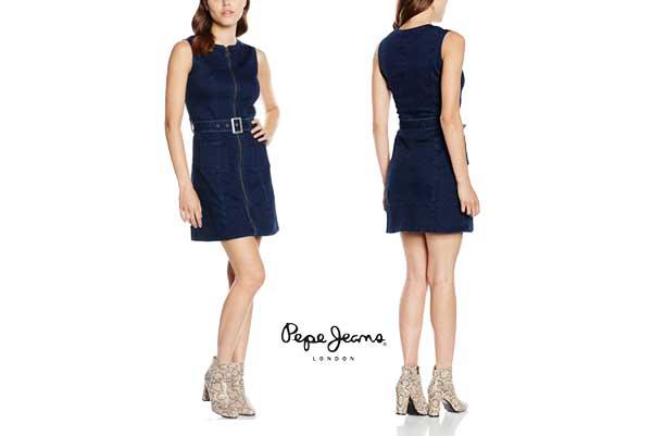 vestido pepe jeans penelope barato oferta descuento chollo blog de ofertas