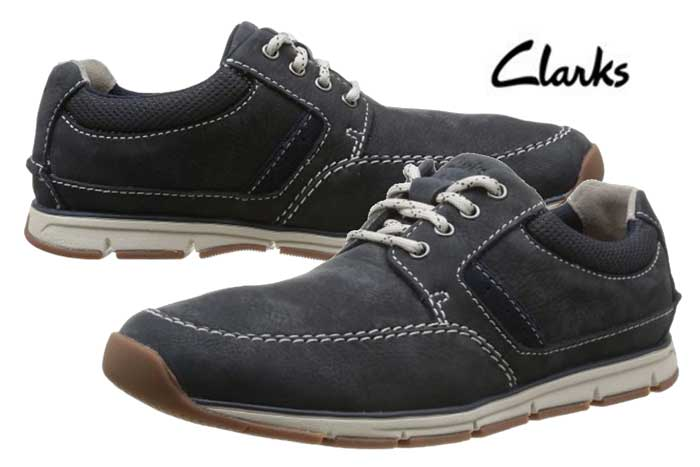 Chollo zapatos clarks beachmont baratos 50 50 descuento for Zapateros baratos amazon
