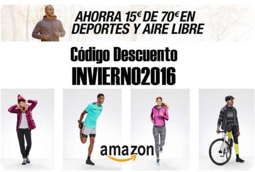 invierno2016 codigo descuento 15e deporte amazon blog de ofertas BDO