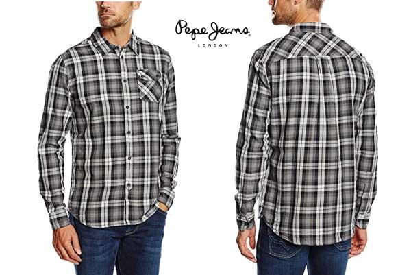camisa Pepe Jeans Barnsby barata oferta descuento chollo blog de ofertas
