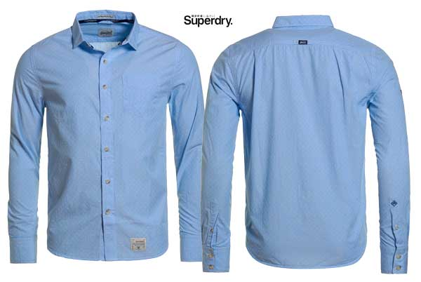 camisa superdry dobbie laundered barata oferta descuento chollo blog de ofertas