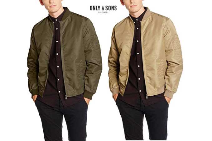 b494c8cc4cb3a chaqueta bomber only   sons barata descuentos rebajas blog de ofertas  chollos amazon bdo