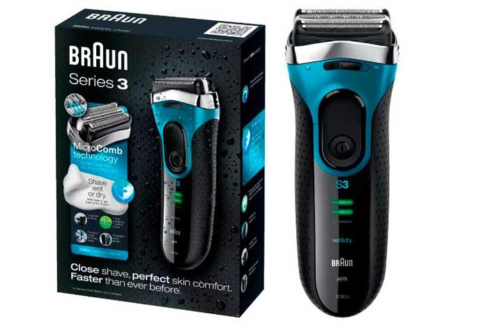 comprar afeitadora braun series 3080 barata chollos amazon blog de ofertas BDO
