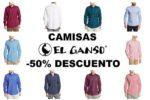 ¿Dónde comprar Camisas El Ganso -50% Descuento? Aquí