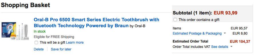 comprar cepillo oral-b pro 6500 barato chollos amazon blog de ofertas bdo