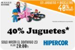 ¿Quieres ahorrar -40% Juguetes Hipercor? Sólo del 21 al 23 Octubre