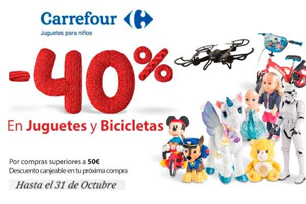 comprar juguetes 40 descuento carrefour chollos rebajas blog de ofertas bdo