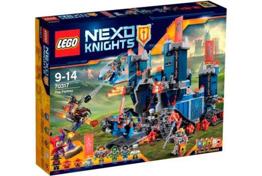 comprar lego nexo knights fortrex barato 70317 chollos amazon blog de ofertas BDO