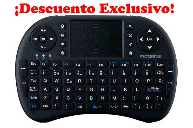comprar mini teclado victsing barato descuento rebajas chollos amazon blog de ofertas bdo