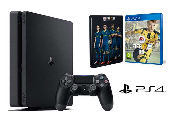consola ps4 slim fifa 17 barata chollos amazon blog de ofertas rebajas descuentos
