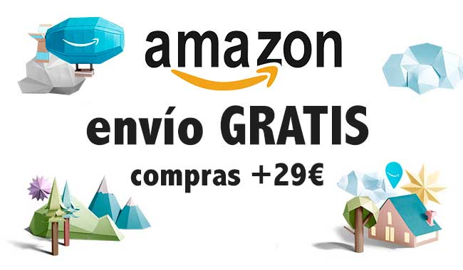 envio gratis amazon pedidos superiores a 29 euros chollos amazon blog de ofetas BDO
