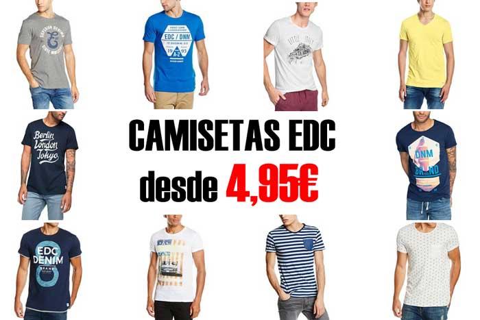 comprar camisetas edc baratas chollos amazon blog de ofertas bdo rebajas descuentos