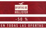 ¿Quieres comprar en Hollister al 50% Descuento? Hasta 9 de Octubre