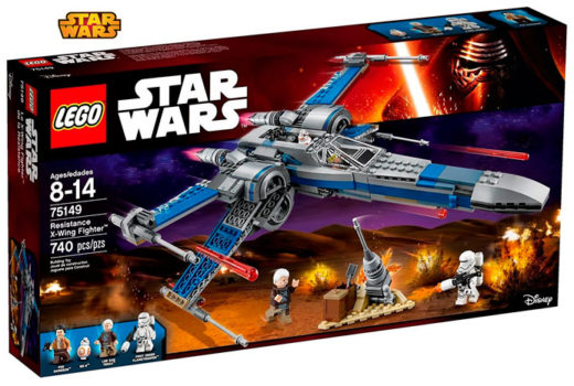 comprar nave lego star wars resistance x-wing barata rebajas chollos amazon blog de ofertas BDO