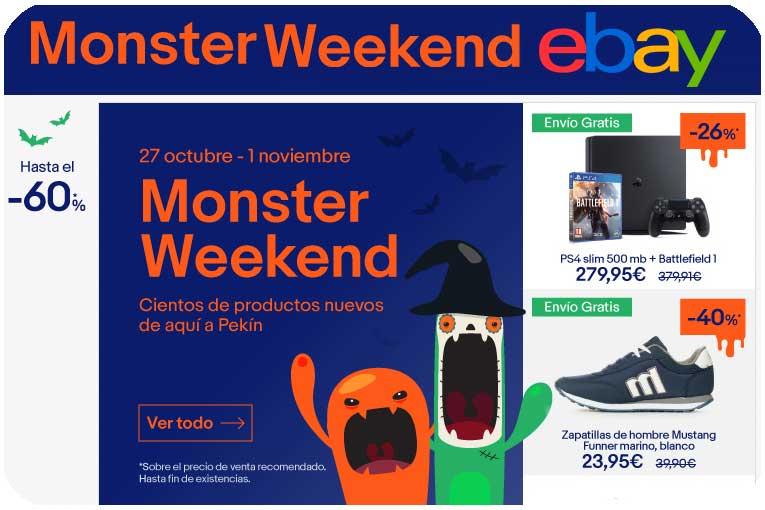 monsterweek ebay octubre chollos ebay blog de ofertas bdo