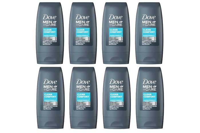 pack 8 gel de ducha dove men clean comfort baratos rebajas chollos amazon blog de ofertas BDO