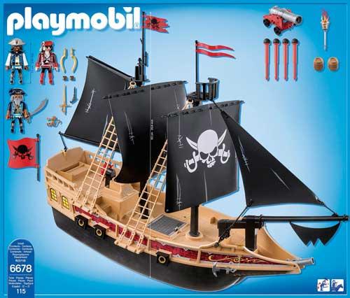 piezas trasera buque corsario playmobil barato 6678 chollos amazon blog de ofertas bdo