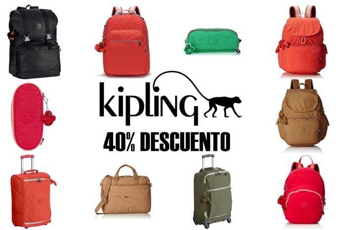 promocion kipling chollos amazon descuento 40 rebajas blog de ofertas BDO