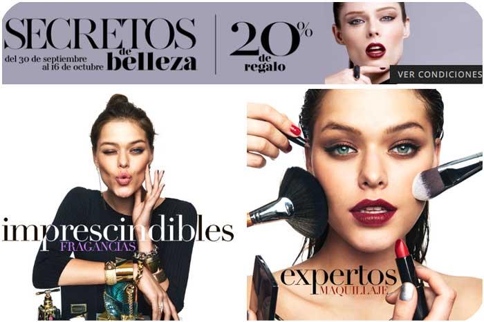 secretos de belleza octubre rebajas chollos el corte ingles blog de ofertas BDO