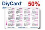 ¿Quieres tarjetas Akrocard baratas? Ahora -50% Descuento