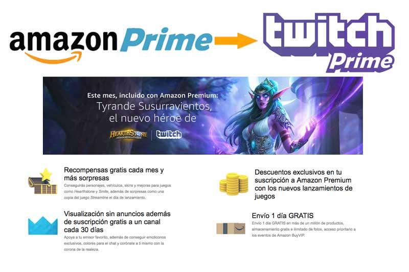 twitch prime gratis con amazon premium novedad nuevo chollos amazon blog de ofertas rebajas descuentos
