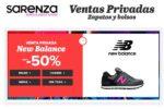 Ventas Privadas New Balance en Sarenza hasta -50% Descuento